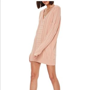 NWT Missguided Sweater Dress